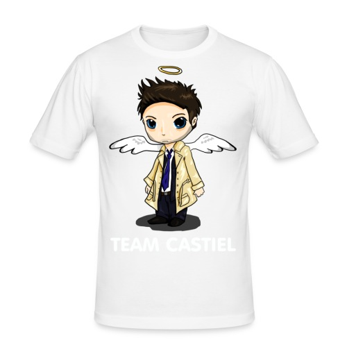 Team Castiel (dark) - Men's Slim Fit T-Shirt