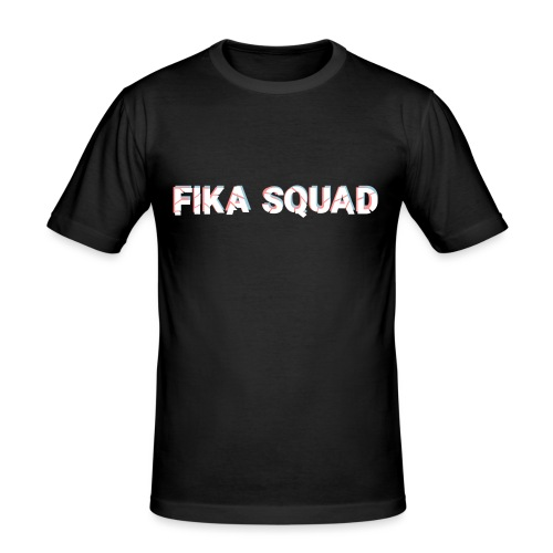 Fika Squad - Slim Fit T-shirt herr