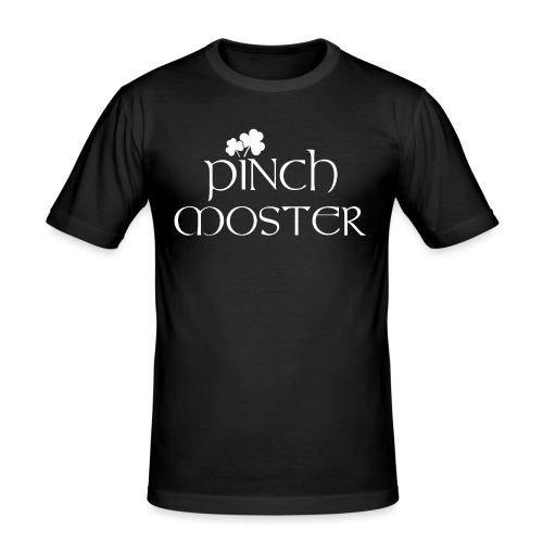 Pinch Moster St. Patricks Day - Männer Slim Fit T-Shirt
