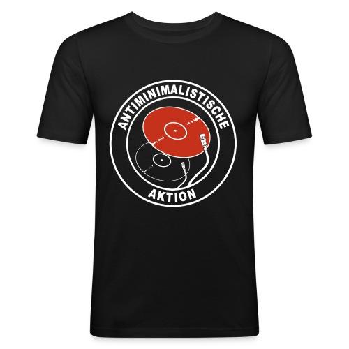 Antiminimalistische Aktion png - Männer Slim Fit T-Shirt