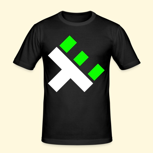xEnO Logo - xEnO horiZon - Men's Slim Fit T-Shirt