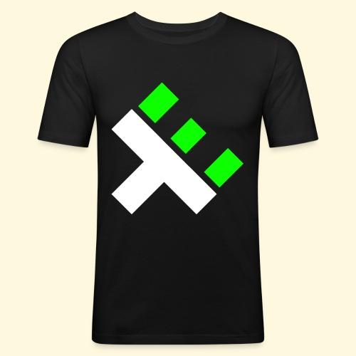 xEnO Logo - xEnO horiZon - Men's Slim Fit T-Shirt