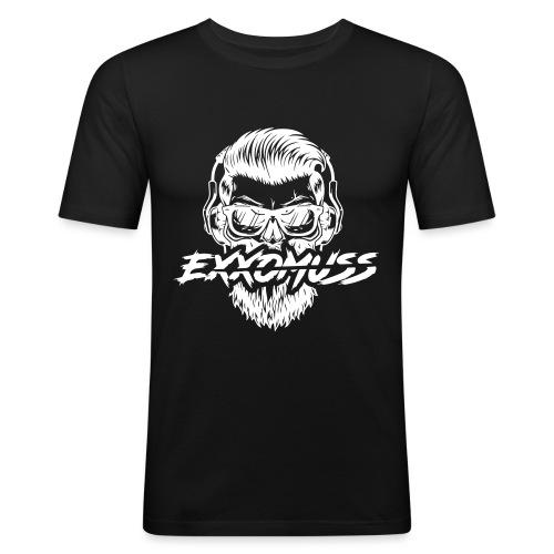 EXXO SKULL - T-shirt près du corps Homme