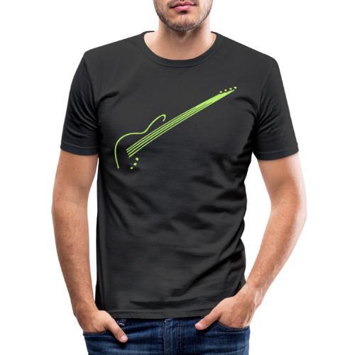 E-Bass - Männer Slim Fit T-Shirt