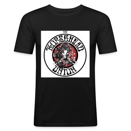 uhuhu1 groß 2 jpg - Männer Slim Fit T-Shirt