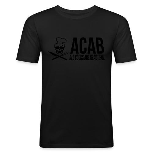 acablang - Männer Slim Fit T-Shirt