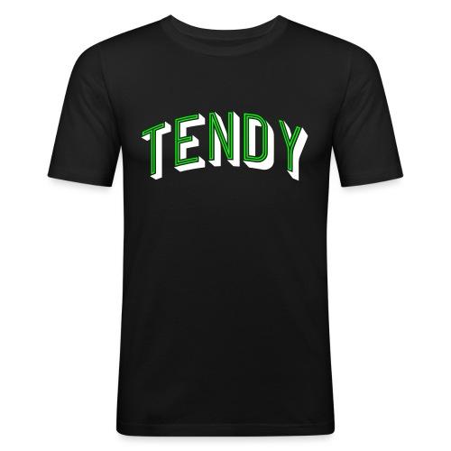 Hockey Goaltender - Tendy - Men's Slim Fit T-Shirt
