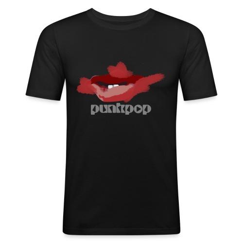 Cure Lips PunkPop - Maglietta aderente da uomo