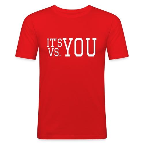You vs You - Men's Slim Fit T-Shirt