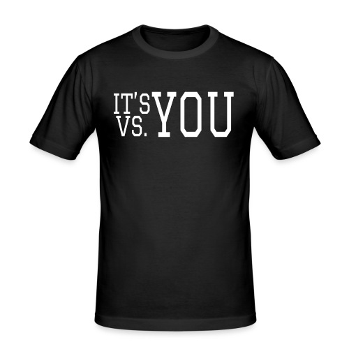 You vs You - Men's Slim Fit T-Shirt