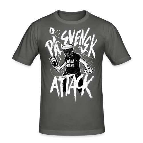 På Svenska Tack - Men's Slim Fit T-Shirt