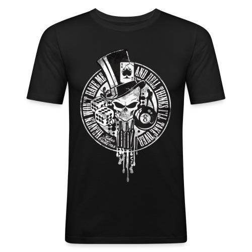 Kabes Heaven & Hell T-Shirt - Men's Slim Fit T-Shirt