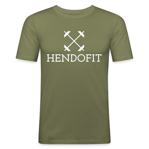 HendoFit - Mannen slim fit T-shirt