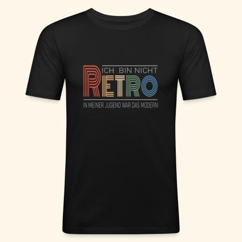 Ich bin nicht Retro Geschenk Geburtstag vintage - Männer Slim Fit T-Shirt