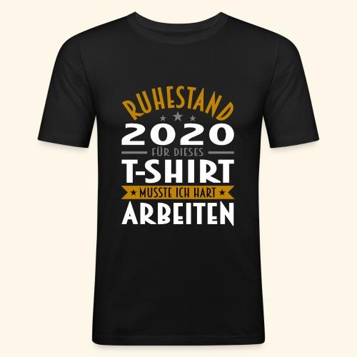 Ruhestand 2020 - Männer Slim Fit T-Shirt