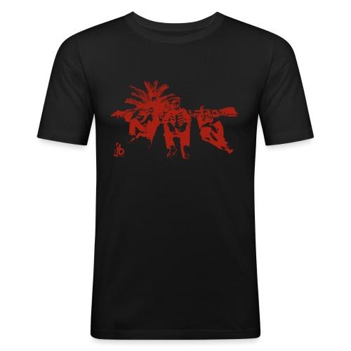 tjb su red new png - Männer Slim Fit T-Shirt