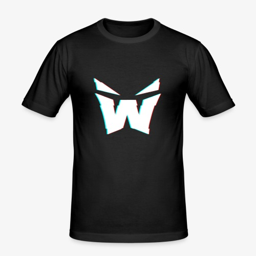 MAN'S VORTEX DESIGN - Men's Slim Fit T-Shirt