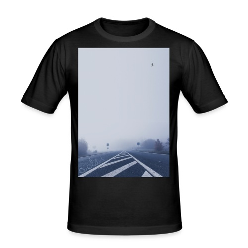 SolitudeFour - Men's Slim Fit T-Shirt