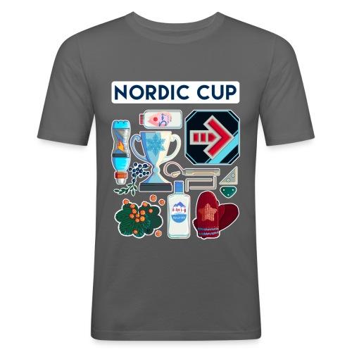 Nordic 2018 - Miesten tyköistuva t-paita