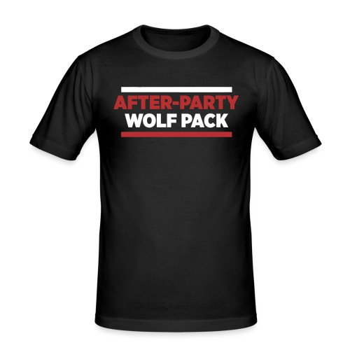 OFFICIAL AFTER-PARTY WOLFPACK MERCH - Men's Slim Fit T-Shirt
