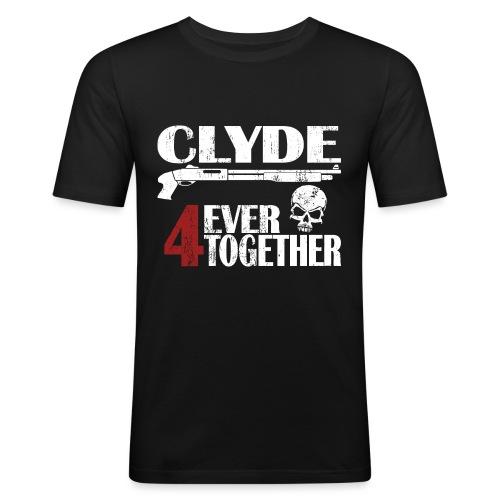 Bonnie - Clyde Geschenk Geschenkidee - Männer Slim Fit T-Shirt