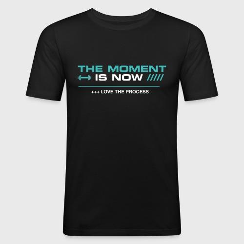 THE MOMENT IS NOW - Camiseta ajustada hombre