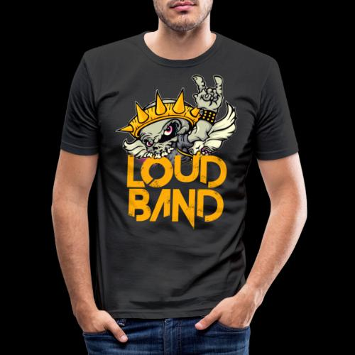 Logo LOUD BAND - Camiseta ajustada hombre