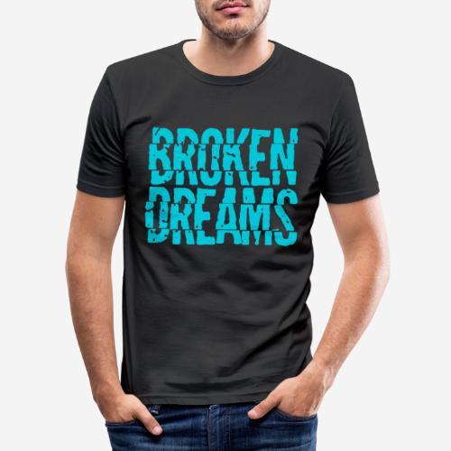 geplatzte Träume - Männer Slim Fit T-Shirt
