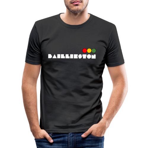 baillieston white - Men's Slim Fit T-Shirt