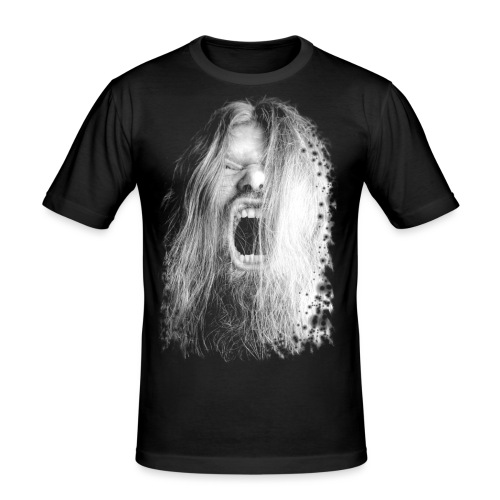 Screeeeam by MetalGOD - Männer Slim Fit T-Shirt