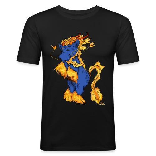 Quilin / Kirin - Männer Slim Fit T-Shirt