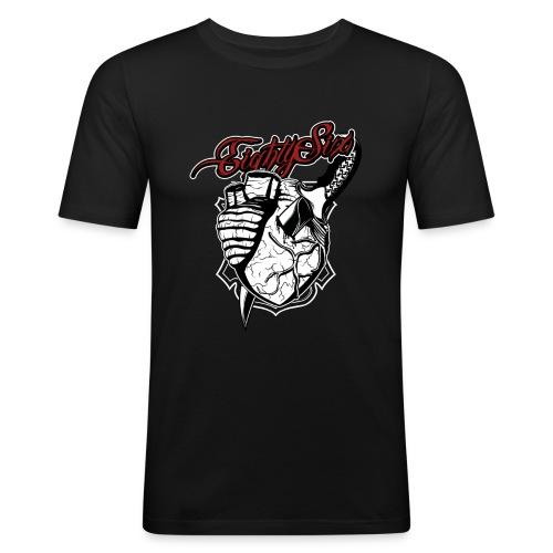 Stabbed Heart - Männer Slim Fit T-Shirt