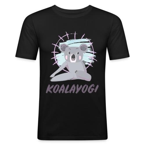 Koalayogi - Slim Fit T-skjorte for menn