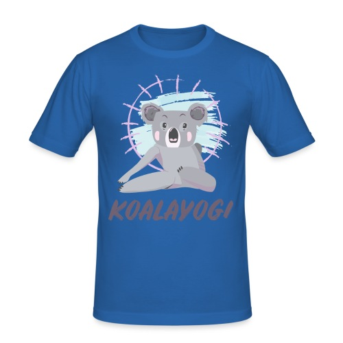 Koalayogi - Slim Fit T-skjorte for menn