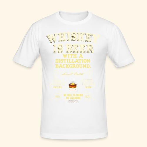 Whiskey Is Beer - Männer Slim Fit T-Shirt