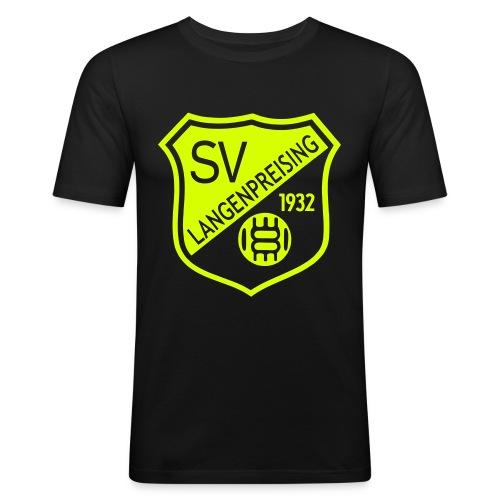 Wappen einfarbig filigran - Männer Slim Fit T-Shirt