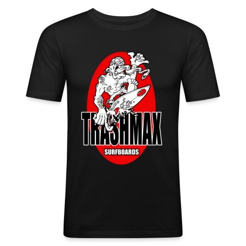 surf 8 - Männer Slim Fit T-Shirt