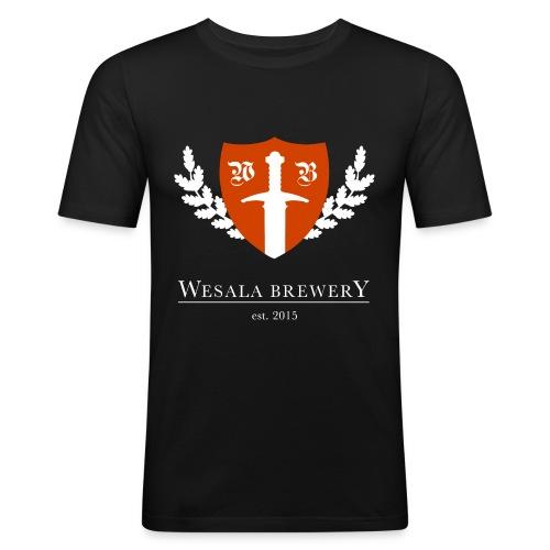 WB Logo Transparent - Men's Slim Fit T-Shirt