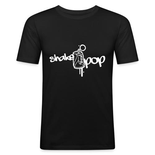 shakepop - Mannen slim fit T-shirt