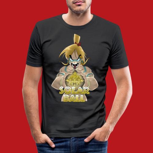 Ricco - T-shirt près du corps Homme