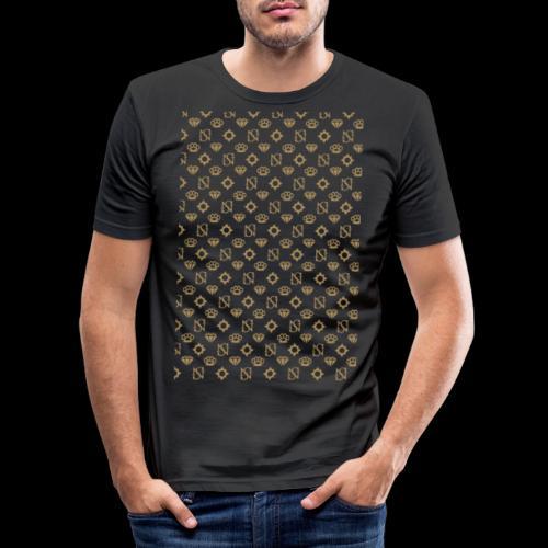SessantaNove Logo Classico - Maglietta aderente da uomo