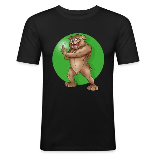 DOGGE_grün - Männer Slim Fit T-Shirt