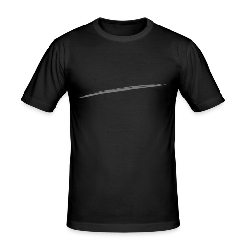 Linie_05 - Männer Slim Fit T-Shirt