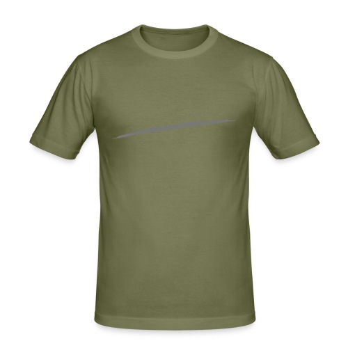 Linie_05 - Männer Slim Fit T-Shirt