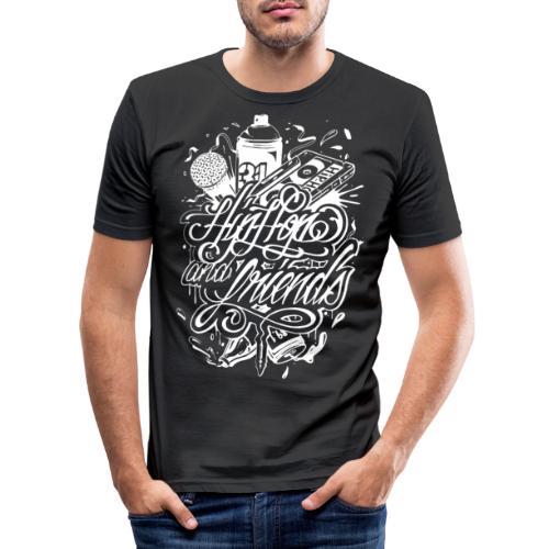 Hiphopnfriendss - T-shirt près du corps Homme