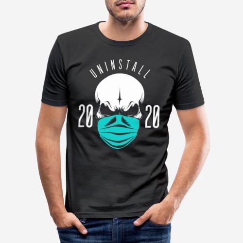 2020 deinstallieren - Männer Slim Fit T-Shirt