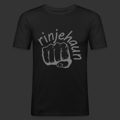 rinjehaun - Männer Slim Fit T-Shirt