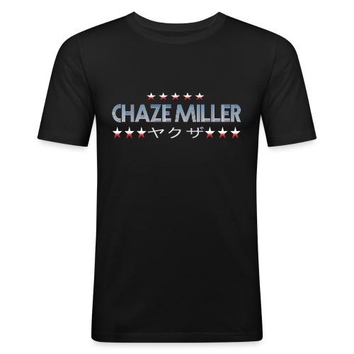 Chaze Miller Yakuza - Männer Slim Fit T-Shirt