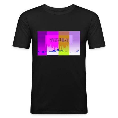 vaporwave yogurth - Maglietta aderente da uomo