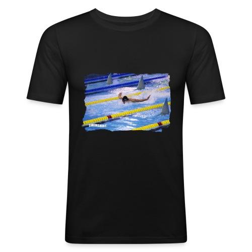 ss logo mens fly png - Men's Slim Fit T-Shirt
